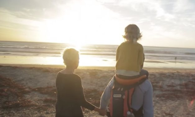 SaddleBaby: Carry Your Child on Your Shoulders Easily