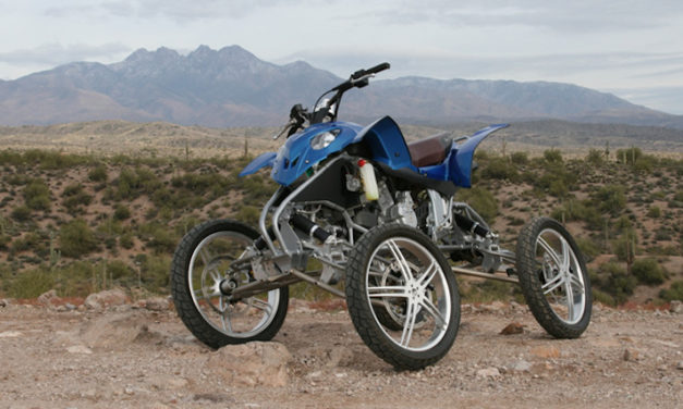 Wesll Leaning Vehicle: The ATV That Works with Gravity