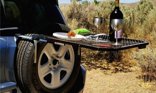 Tailgater Tire Table: Get More Out of Your Next Camping Trip