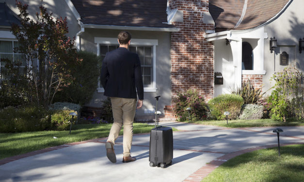 Ovis Suitcase: The World's First AI-Controlled Travelling Bag