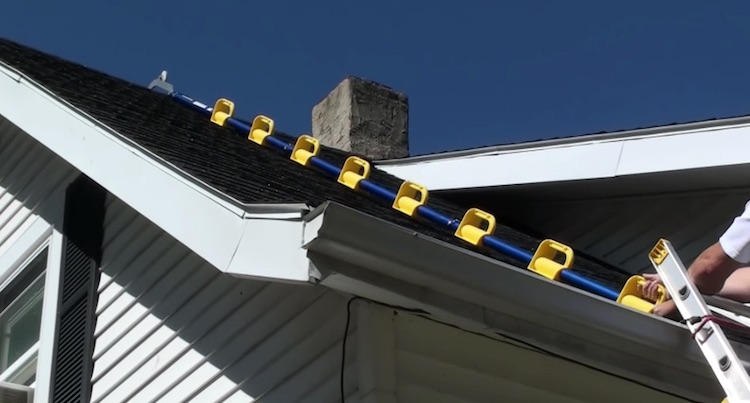 Goat Steep Assist Ladder Helps You Climb Steep Roof Tops