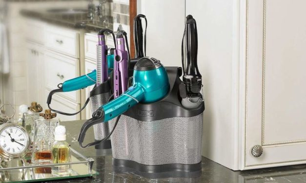 Polder Style Station: Keep All Your Hair Tools Organized