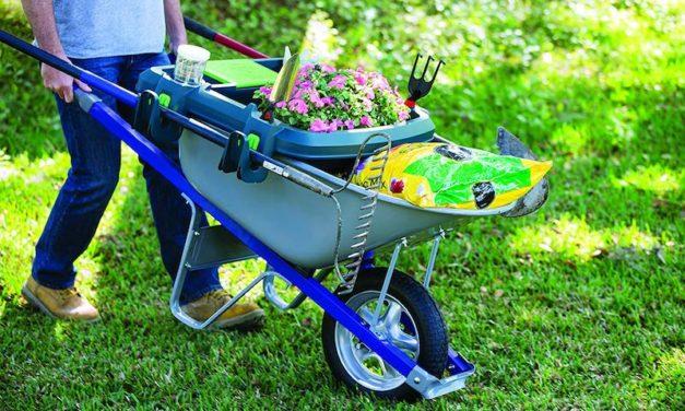 Original Little Burro: The Time-Saving Wheelbarrow Organizer