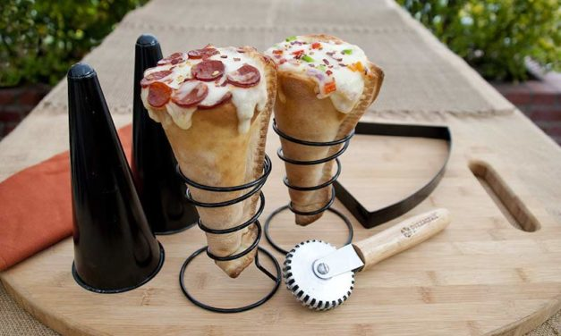Pizzacraft Grilled Pizza Cone Set: A Fun Way to Eat Pizza