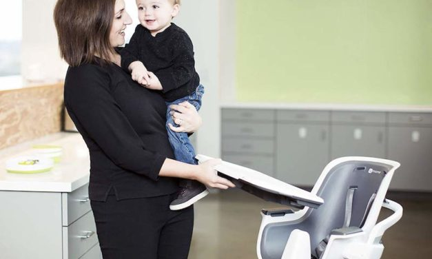 4moms high chair: The Magnetic Tray Top for Your Baby