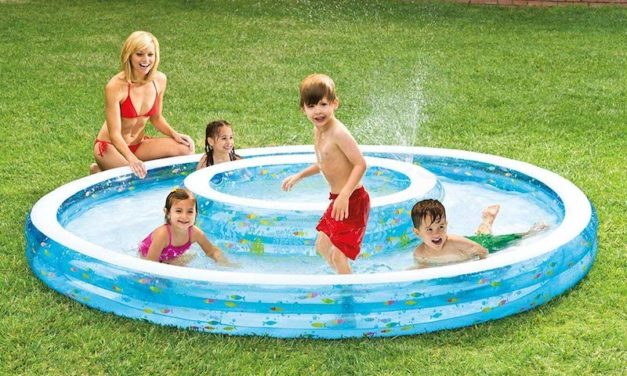 Intex Wishing Well: The Inflatable Pool with a Well Inside