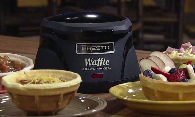Presto Belgian Bowl Waffle Maker: Make Your Own Waffle Bowls at Home