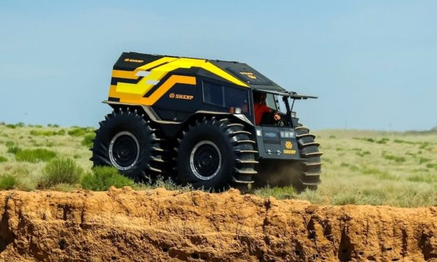 SHERP ATV: The Vehicle You Want During the Apocalypse