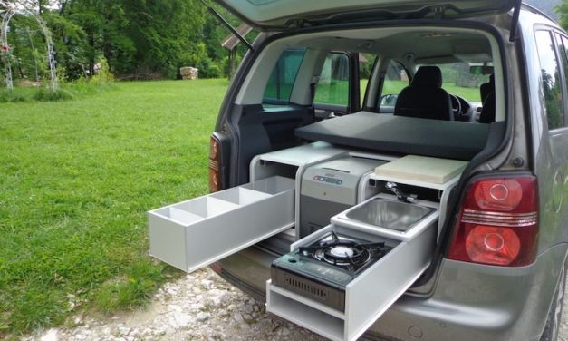 Sipras FLIP Camping Box: Turn Your Van into a Personal Camper