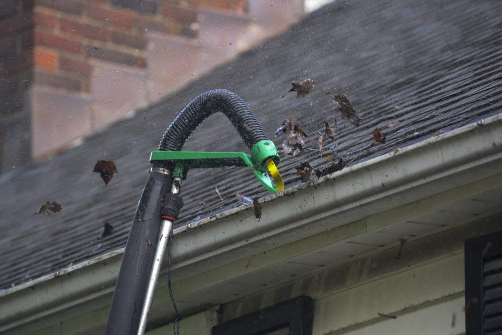 Gutter Viper Clean Two Y Gutters Without A Ladder