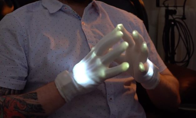 LED Skeleton Gloves: Add a Creepy Touch to Your Halloween Costume