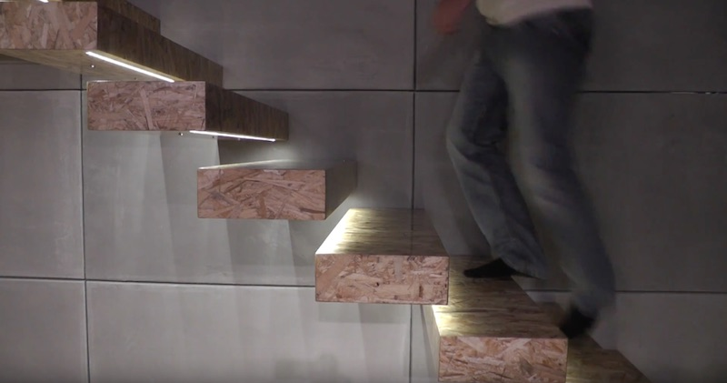 Down Basement Stairs Lighting: SOLED Stair Lights: Walk Up And Down The Stairs Safely In