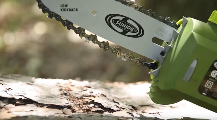 Sun Joe Automatic Chain Saw 5