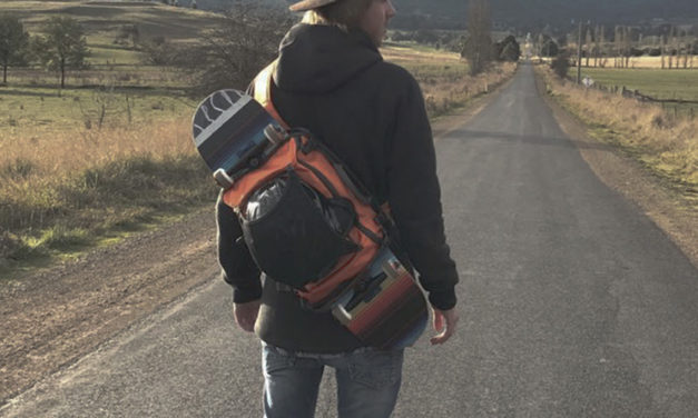 Feather Rider: A Multi-Functional Snowboard Sling Bag