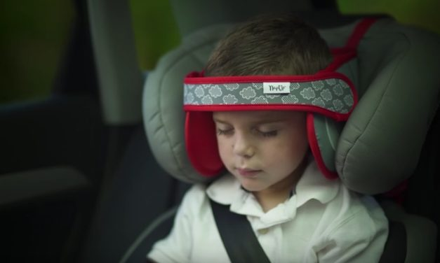 NapUp: Let Your Child Sleep Comfortably in the Car