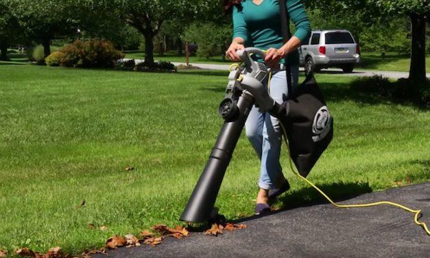 Sun Joe Elec Blower-Vacuum-Mulcher: Get Your Yard Fall-Ready