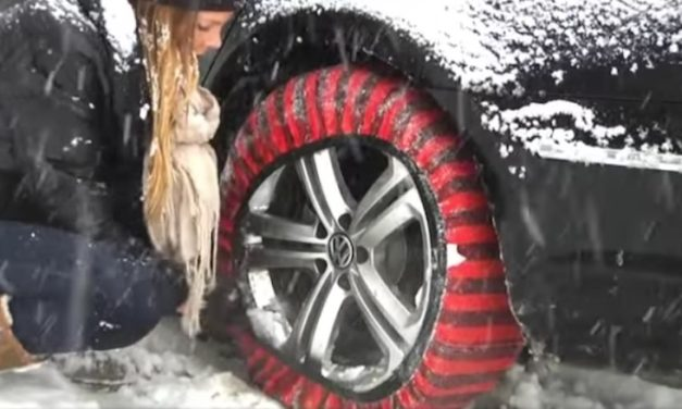 Shark Snow Socks: Get Better Traction as You Drive Through the Snow