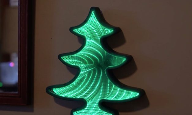Christmas Infinity Light: The Cool Way to Light Up Your Home for the Holidays