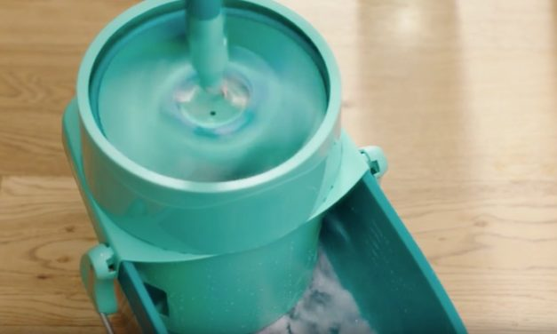 Leifheit Clean Twist Spin Mop System: Mop Your Floors the Easy Way