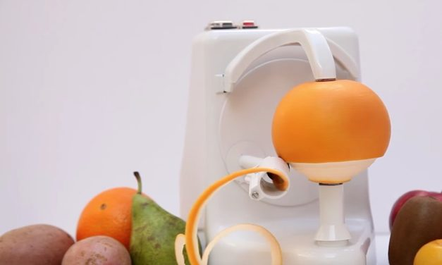 Orange Peel Domestic: Peel Any Fruit or Veggie Hands-Free