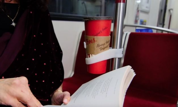 Comfycup: Keep Your Drink Secure on Public Transportation