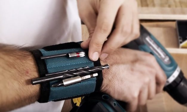 Wizsla Magnetic Wristbands Set: Keep Your Screws and Small Tools Handy