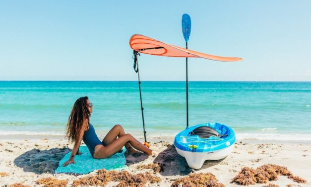 Leaf for Life: The Smart Sunshade for Hot Days